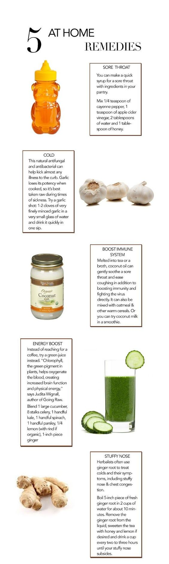 Fighting A Cold Natural Remedies